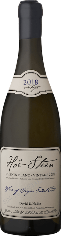 David & Nadia WinesHoe Steen Chenin Blanc 2018