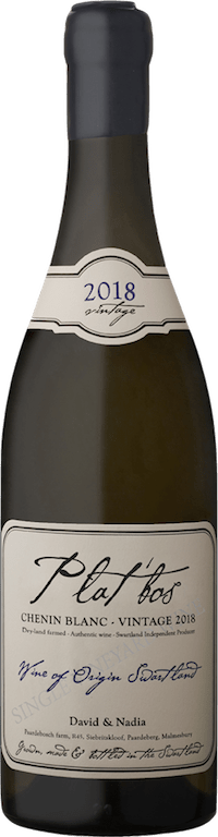 David & Nadia Wines Plat'bos Chenin 2018